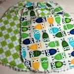 Baby Bibs Boys Set of 2 Owl..