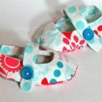 Baby Crib Shoes Girls Owls..