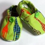 Baby Crib Shoes Boys Giraff..